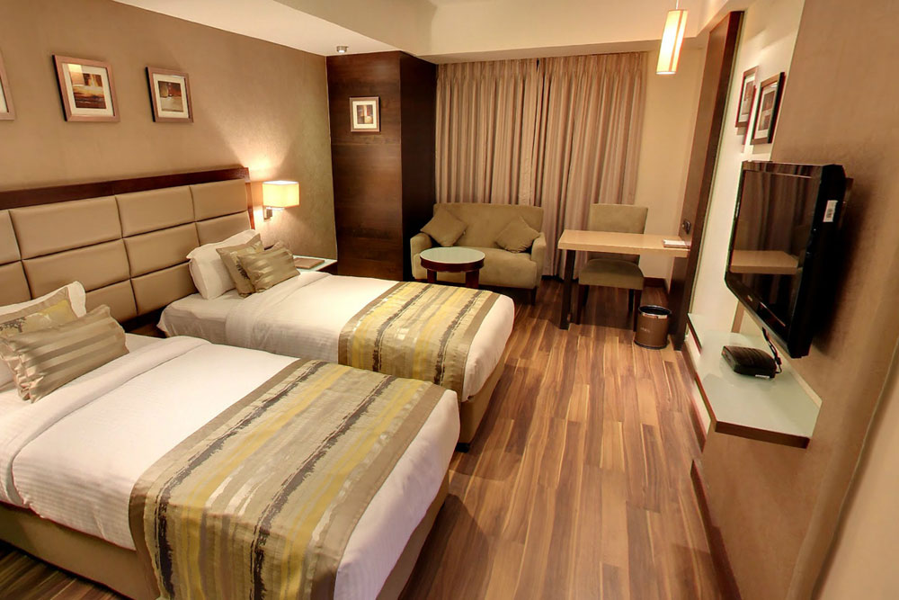 Twin room hotels in Ahmedabad, Corporate hotels in Ahmedabad, Business class hotels in Ahmedabad