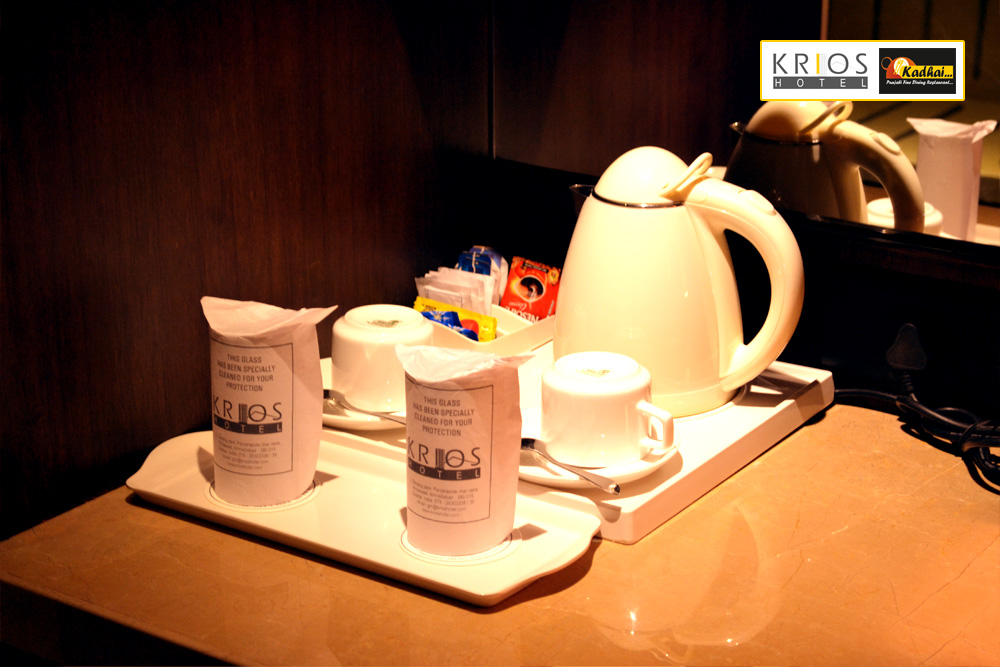 Complementry Tea & Coffee Making Machine in all Rooms